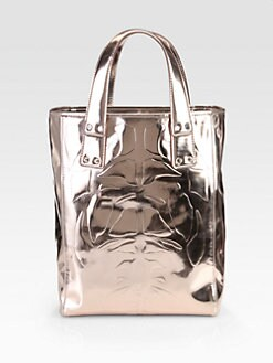 McQ Alexander McQueen - Kingsland Metallic Leather Tote