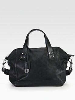 McQ Alexander McQueen - Redchurch Perforated Shoulder Bag