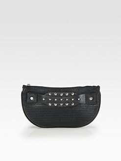 McQ Alexander McQueen - Collar Perforated Clutch