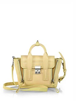 3.1 Phillip Lim - Pashli Mini Stamped Leather Satchel