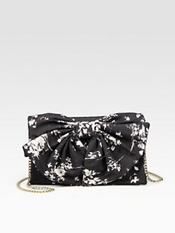 RED Valentino - Printed Bow Shoulder Bag