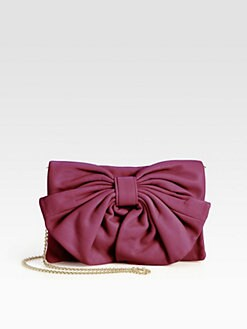 RED Valentino - Leather Bow Shoulder Bag