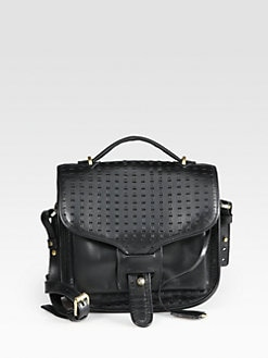 Opening Ceremony - Perforated Shoulder Bag