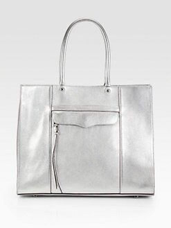 Rebecca Minkoff - Mab Metallic Leather Tote