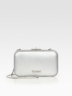Rebecca Minkoff - Vincent Metallic Minaudiere Clutch