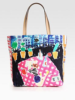 Kate Spade New York - Bon Printed Canvas Shopper