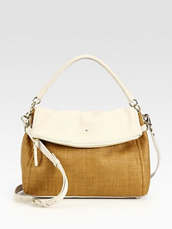 Kate Spade New York - Little Minka Mixed-Media Shoulder Bag