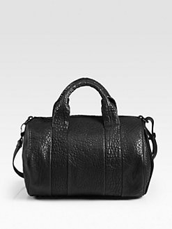Alexander Wang - Rocco Lambskin Top Handle Bag/Black Hardware