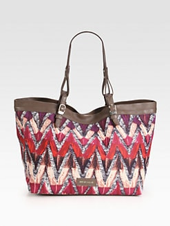 See by Chloe - Phoenix Printed Canvas Tote