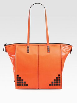 Milly - Gwen Studded Leather Tote
