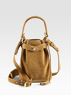 Opening Ceremony - Pop-Up Suede Bucket Bag