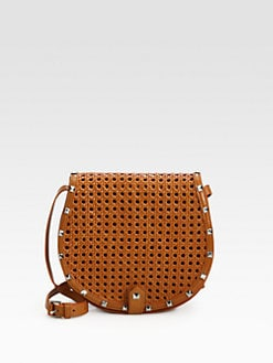 Rebecca Minkoff - Skylar Woven Leather Crossbody