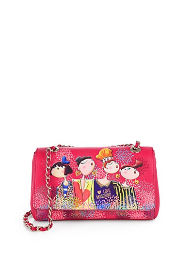 Sale alerts for Love Moschino Girls-Print Chain Shoulder Bag - Covvet