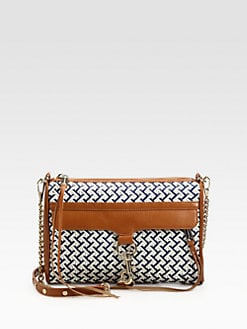 Rebecca Minkoff - Mac Woven Clutch
