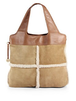 Fleece decorated on the zipper cuff will make the bag more warm .Besides, it is a luxury and comfort bag.UGG Handbags are the latest addition to the world