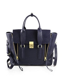 3.1 Phillip Lim - Pashli Medium Satchel/Jade
