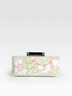 Diane von Furstenberg - Tonda Printed Sequin Clutch