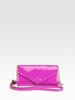 Kate Spade New York - Harrison Street Kylie Patent Leather Crossboy Bag