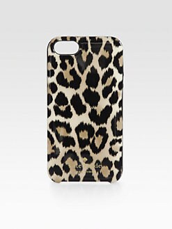 Kate Spade New York - Leopard-Print Case for iPhone 5