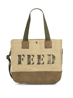 FEED - Mixed-Media Function Tote