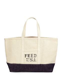 FEED - Canvas & Denim Tote Bag
