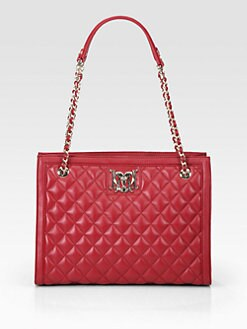 Love Moschino - Quilted Chain Strap Tote