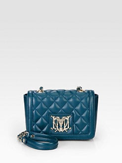 Love Moschino - Quilted Mini Leather Shoulder Bag