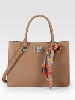 Love Moschino - Scarf Forever Borsa Manici Top-Handle Bag