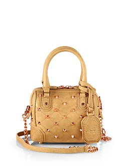 Alice + Olivia - Studded Mini Leather Satche