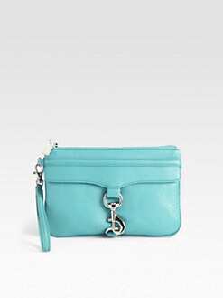 Rebecca Minkoff - Skinny Mac Leather Wristlet