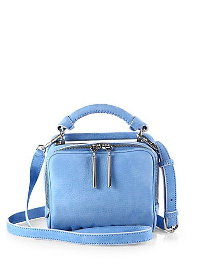 Ryder Small Suede Crossbody Bag