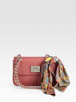 Love Moschino - Scarf Forever Borsa Manici Shoulder Bag