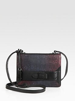 10 Crosby Derek Lam - Ombre Lizard-Print Mini Crossbody