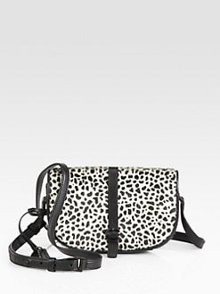 10 Crosby Derek Lam - Lola Spotted Hair Calf Shoulder Bag