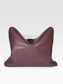 3.1 Phillip Lim - 31 Minute Oversized Two-Tone Clutch