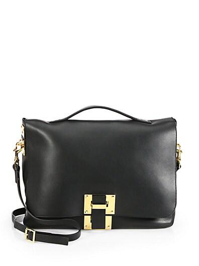 Soft Flap Shoulder Bag