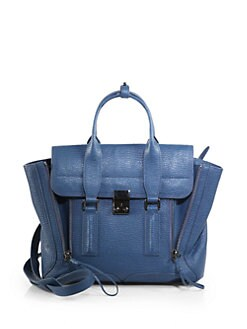 3.1 Phillip Lim - Pashli Medium Satchel/Blue