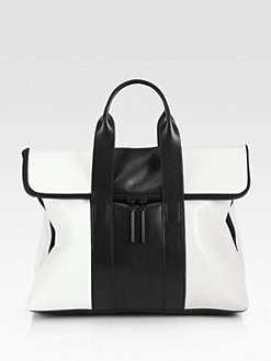 3.1 Phillip Lim - 31 Hour Striped Colorblock Bag
