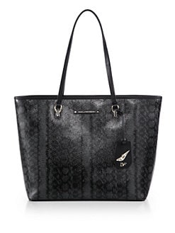Diane von Furstenberg - Sutra Ready to Go Printed Coated Canvas Tote