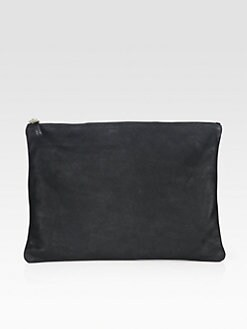 CLARE VIVIER - Oversized Leather Clutch