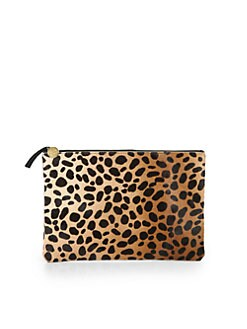CLARE VIVIER - Haircalf Clutch