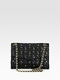 Rebecca Minkoff - Affair Studded Quilted Shoulder Bag