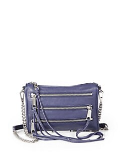Rebecca Minkoff - Metallic Mini Zip Clutch