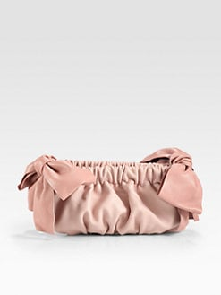 RED Valentino - Two-Tone Bow Clutch