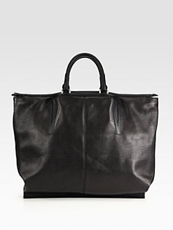 Alexander Wang - Liner Snake Embossed Leather Tote