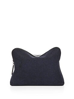 3.1 Phillip Lim - Sparkle-Coated Leather Cosmetics Bag
