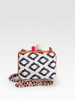 Sophia Webster - Azealia Tribal Convertible Box Clutch
