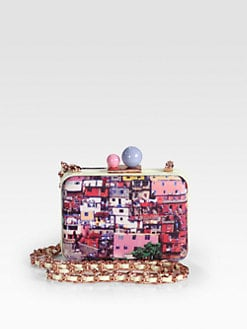 Sophia Webster - Azealia Print Convertible Box Clutch