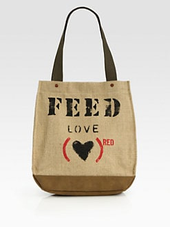FEED - FEED(RED) LOVE 30 Tote Bag