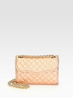 Rebecca Minkoff - Mini Affair Metallic Shoulder Bag